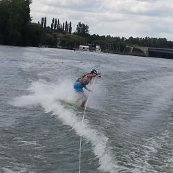 Wakeboard sur la Saône