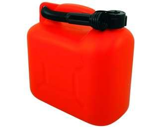 JERRYCAN ROUGE 10 LITRES HYDROCARBURES