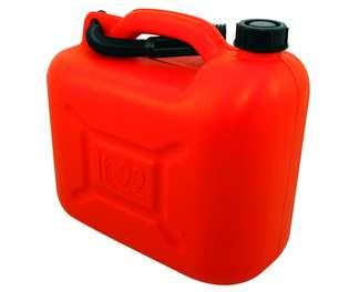 JERRYCAN ROUGE 20 LITRES HYDROCARBURE