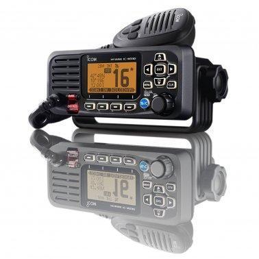 VHF ICOM FIXE IC-M330 GE NOIRE AVEC GPS
