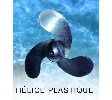 HÉLICE PLASTIQUE 2.5, 3.3 CV