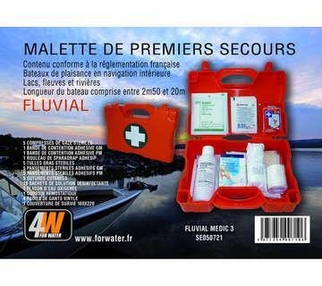 MALLETTES PREMIERS SECOURS FLUVIAL