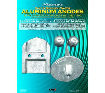 KIT ANODE MERCURY ALPHA ONE