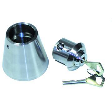 ANTIVOL INOX CONIQUE pour moteurs de 30 à 225V