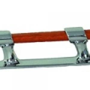 Aquet bois et laiton chrome 3