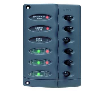 TABLEAU ELECTRIQUE  REARMEMENT AUTO 6 INTERRUPTEURS