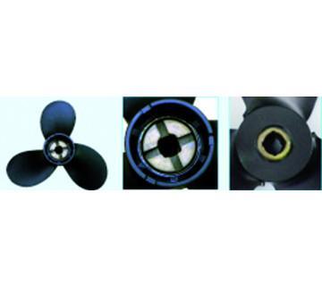 HELICE SOLAS pour BRP 3Pales     6 a 14 cv (entraînement clavette)