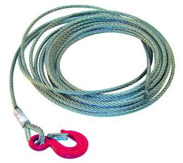 Cable treuil acier