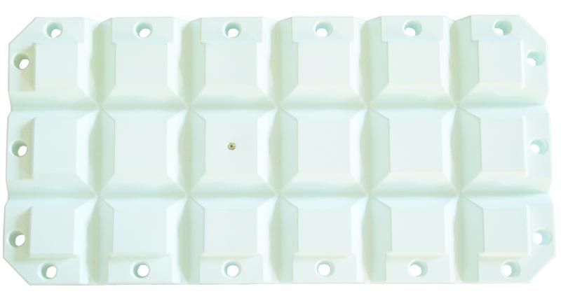 Defense ponton 60x30x8 blanc
