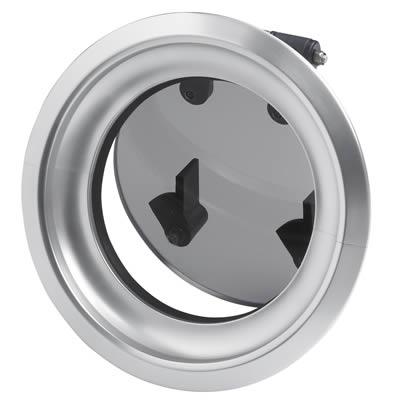 Hublot aluminium rond vetus type pw