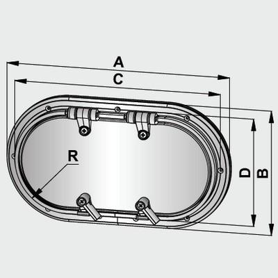 Hublot aluminium vetus type pm21 2