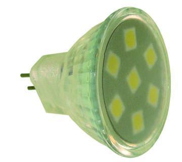AMPOULE MR11 7 LED 1.2W