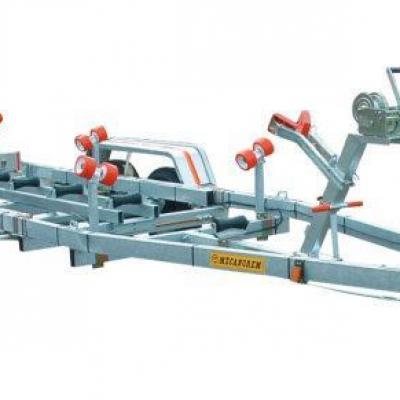 REMORQUES SÉRIE MTX de 1600 à 2200 kg  PTC