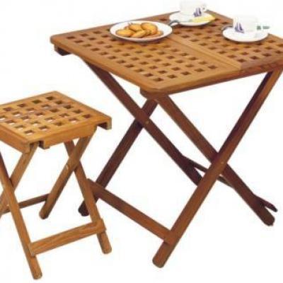 TABLE À RALLONGE TECK
