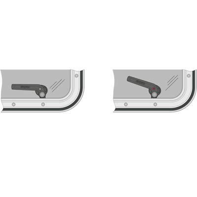 Panneau de ventilation magnus type 2626a