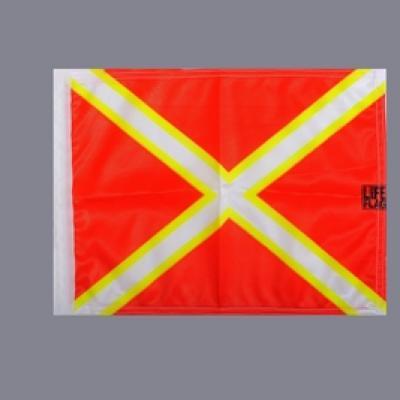 PAVILLON DE PLONGÉE CROIX DE ST ANDRÉE LIFE FLAG