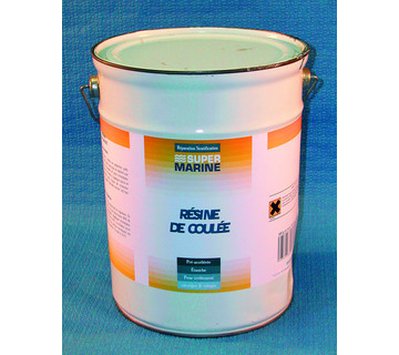 Resine coulee