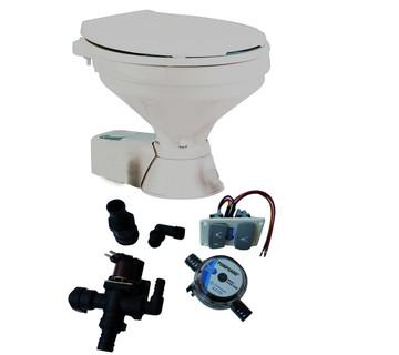 WC ELECTRIQUE 'QUIET FLUSH' de JABSCO